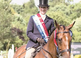 Ross is the best in show atHickstead's Royal International Horse Show