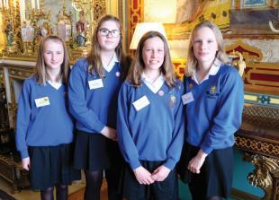 Piggott School pupils visit Buckingham Palace after winning cyber security competition