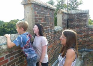 Visitors take chance to climb to top of medieval Ruscombe church