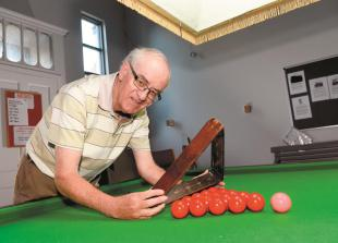 Trust grant right on cue for Twyford Snooker Club