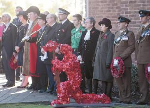 In pictures: Maidenhead holds town centre Armistice Day events