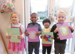 Busy Bees nursery celebrates 'good' ofsted