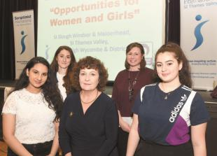 In pictures: Soroptimist clubs join forces to celebrate International Women's Day