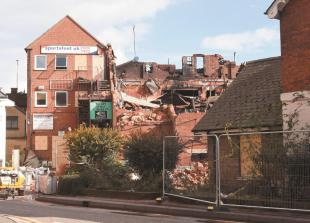 Roma club demolition work needed because building is 'structurally unsound'