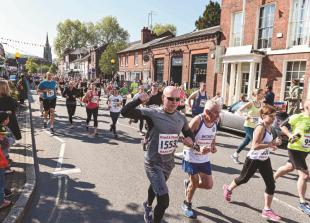 More than 1,500 runners take on Marlow 5 run