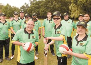 Advertiser grant helps Berkshire Stags Cricket Club buy new kit