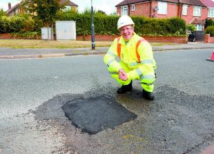 Council 'scaling back' 24-hour pothole pledge