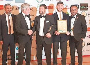 Marlow eatery wins regional restaurant award in London