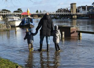 Flood alerts issued for Bourne End and Twyford