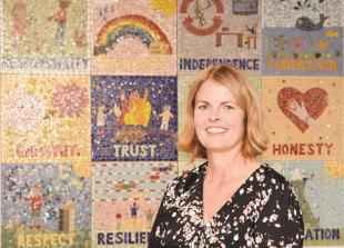 New headteacher expresses her delight as she takes up role at The Colleton Primary School