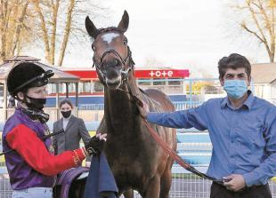 Queen's horse Spring is Sprung makes winning return to Windsor