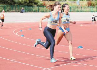 Sprint success as dominant WSEH athletes help club to top of table