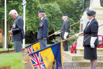 Battle of the Somme anniversary commemorated at Burnham war memorial