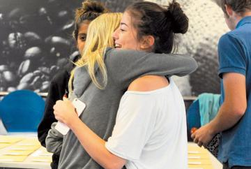 LIVE: A-level results day