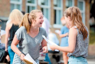 LIVE: GCSE results day
