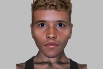 E-fit released after burglary in Slough