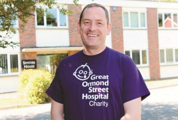 Twyford managing director walks 288 miles for Great Ormond Street