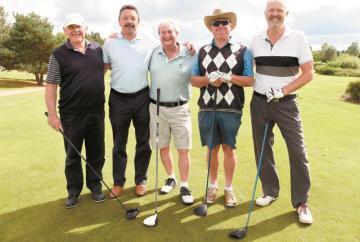 Golfers raise £15,000 for Reuben's Fight