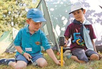 Furze Platt beavers take part in first ever camp