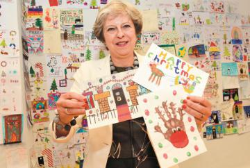 Theresa May launches annual Christmas card competition