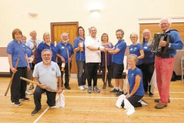 Morris dancers raise cash for homeless project