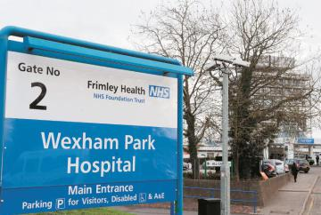 Missed appointments cost Frimley Health Trust £6m