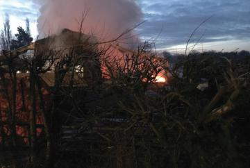 Firefighters called to 'well-developed' barn fire in Hurst