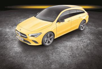 New Mercedes-Benz CLA to be available as a Shooting Brake from September