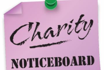 Charity noticeboard: October 17