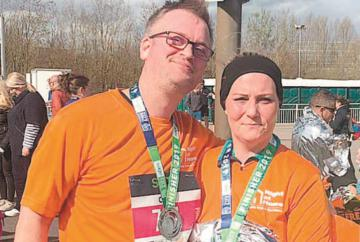 Couple raises hundreds for Age Concern Twyford