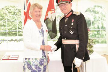 Marlow woman awarded British Empire Medal
