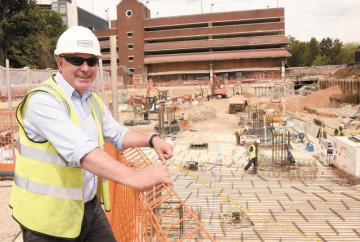 In pictures: Foundations complete on 182-home Maidenhead development
