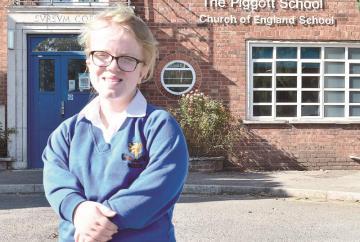 Piggott School student selected for British Para Swimming Talent Squad.